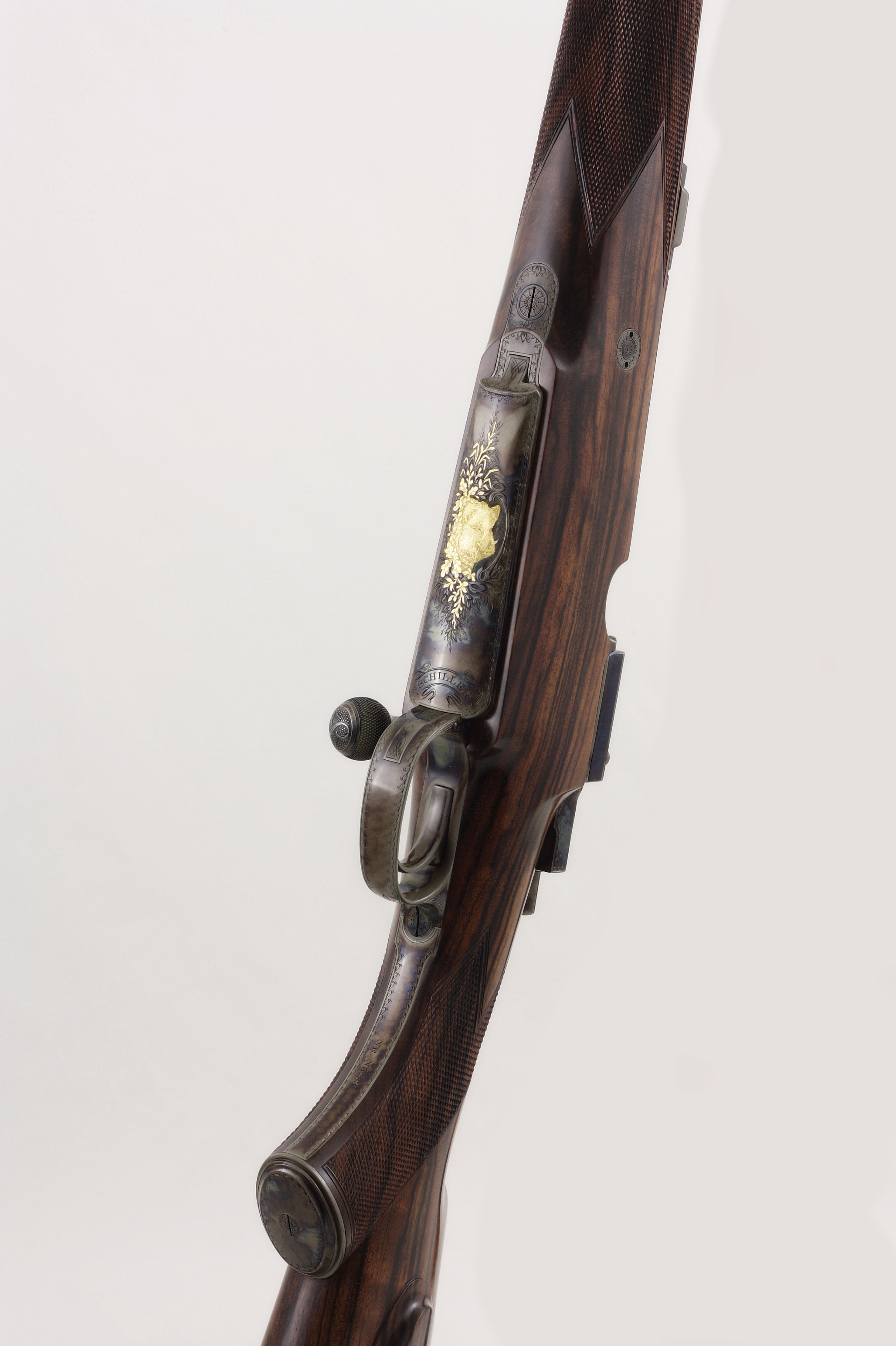 [Translate to en:] Schiller Mauser Repetierer 8x68 Leutershausen Waffen Flühr